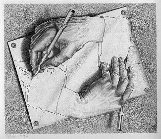 MC Escher, 1948