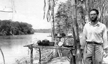 Lávi-Strauss na Amazónia, por volta de 1936