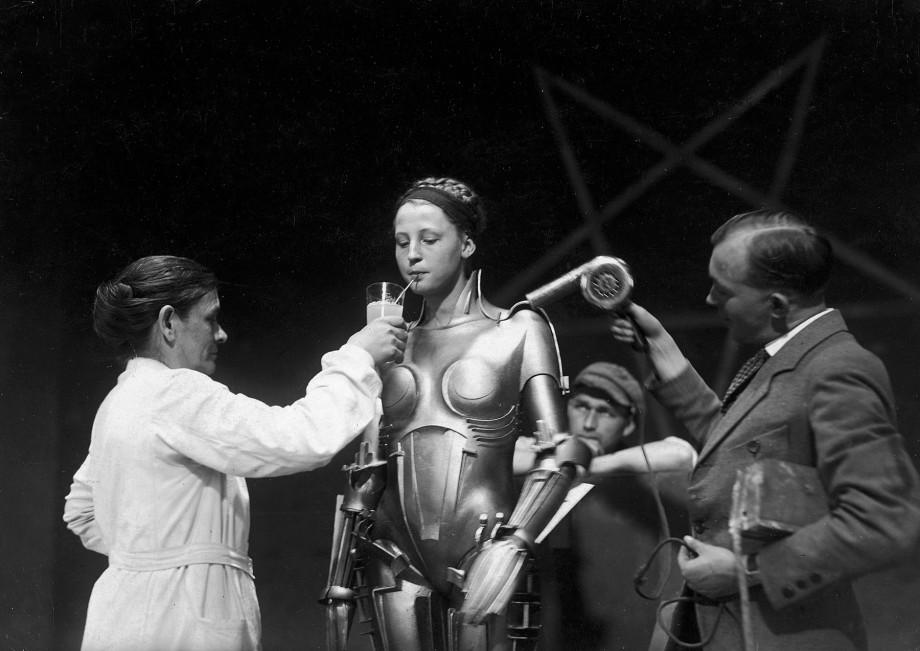 Nos bastidores de Metropolis de Fritz Lang (anos 20)
